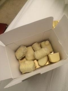White Belgian Truffles