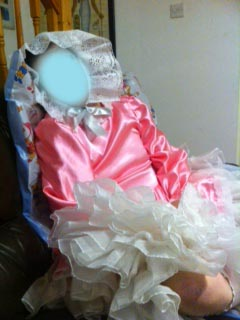Adult baby Sissy