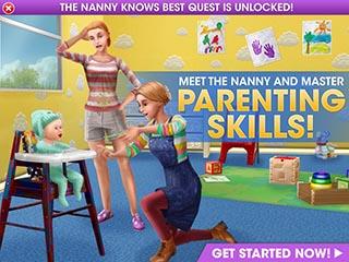 Sims Nanny