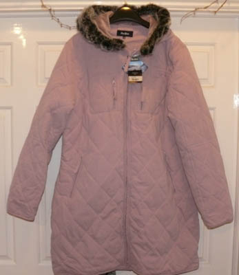 sissy adult baby pink coat